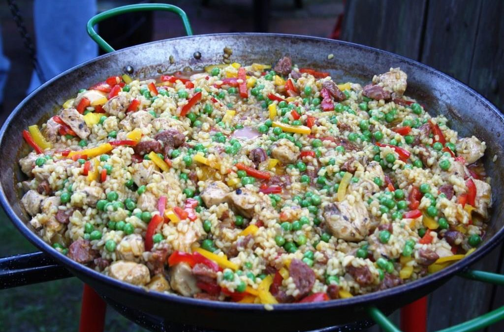 Paella á la Gourmet Flamand