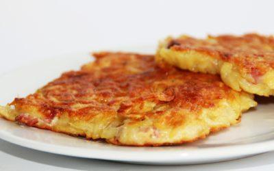 Kartoffelplätzchen mit Schnittlauch