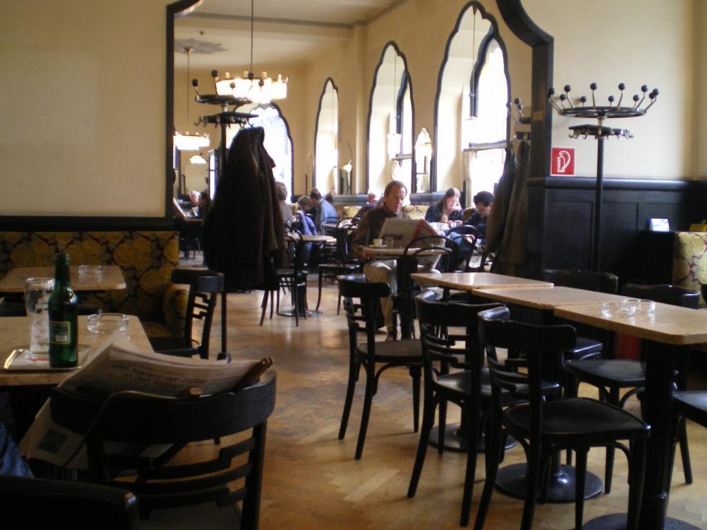 Ein altes Wiener Café-Haus