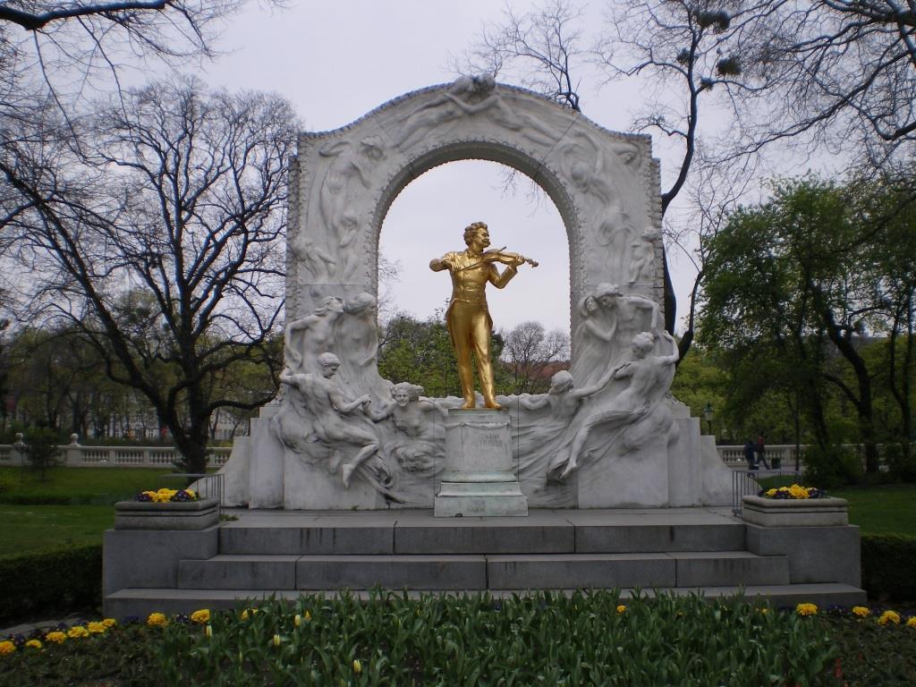 Das Strauss-Denkmal