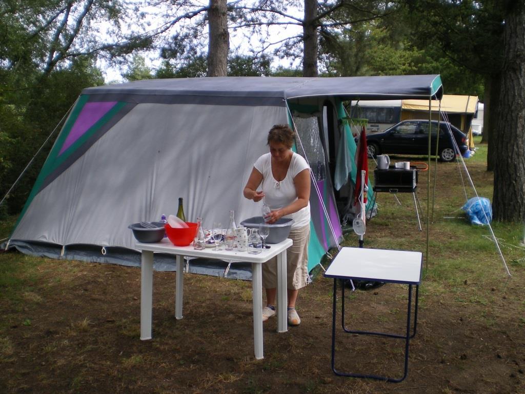 Das Leid der Camper - Abwaschen