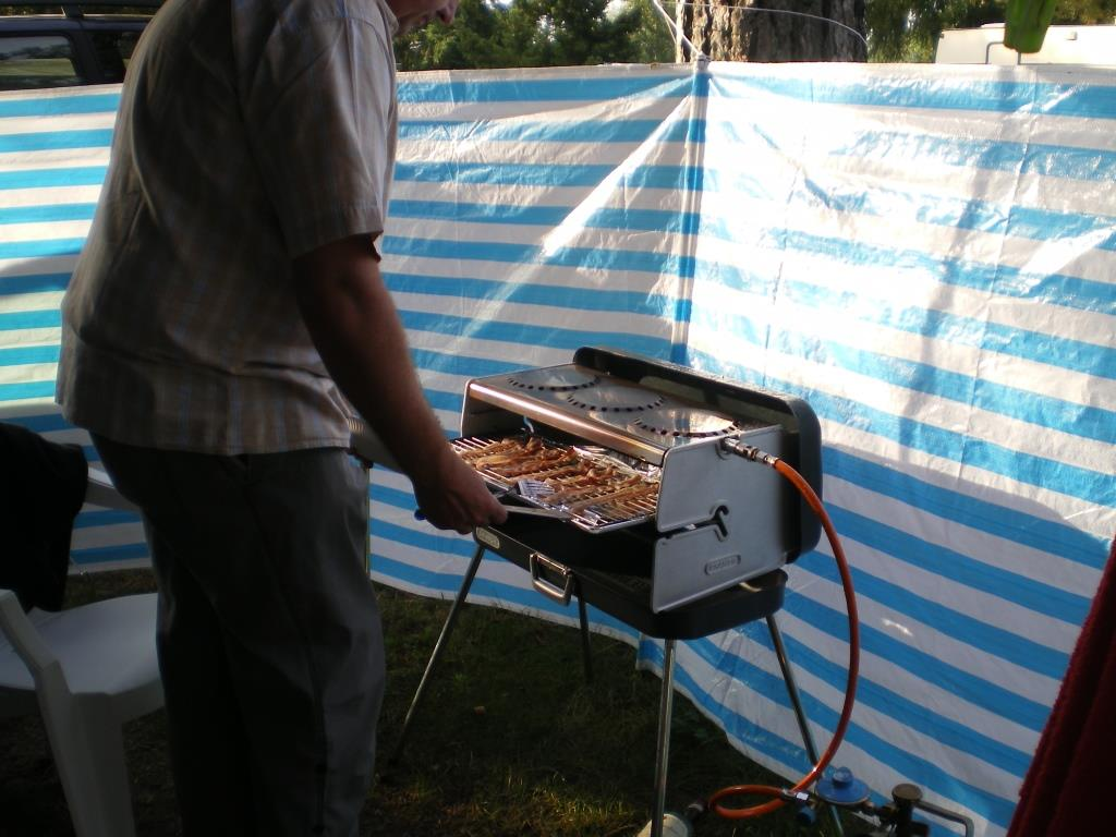 Bacon aus dem Gasgrill