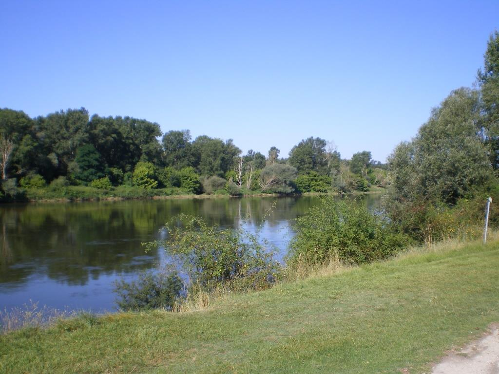 Noch einmal ein Blick zurück auf die Loire