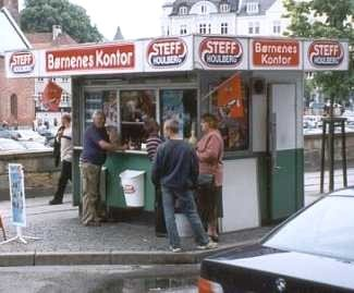 Obligatorisch: die Pölser-Bude